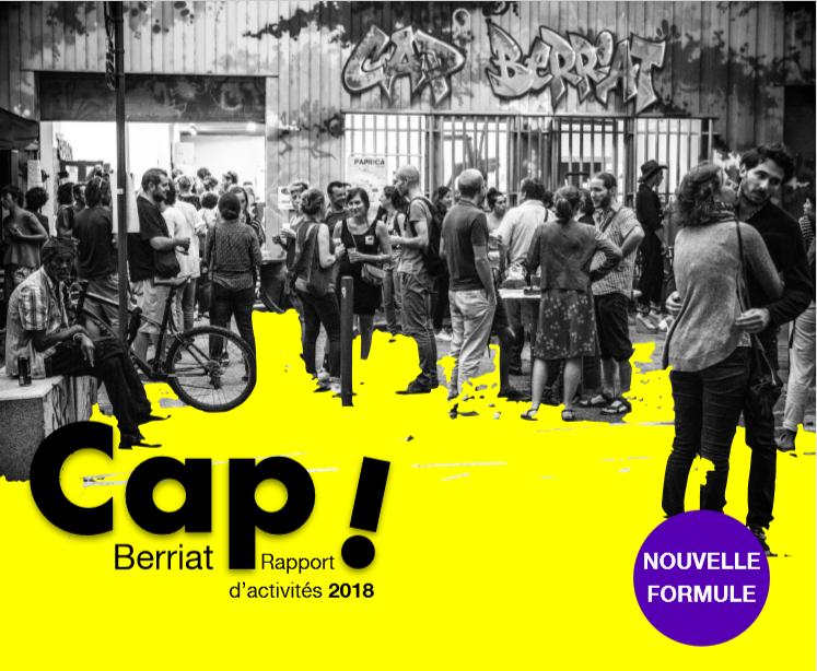 Rapport d'activité de l'association Cap Berriat à Grenoble